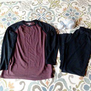 Orvis loungewear set in medium